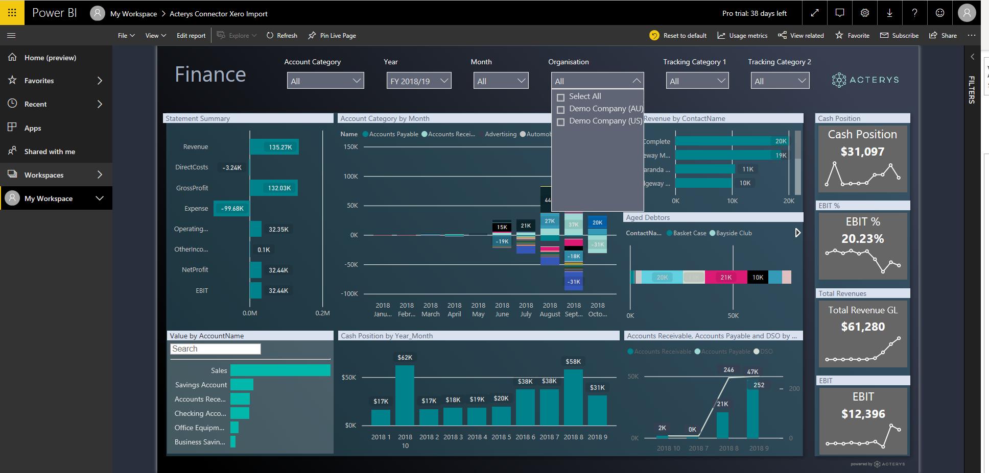Xero Planning & Reporting - Managility